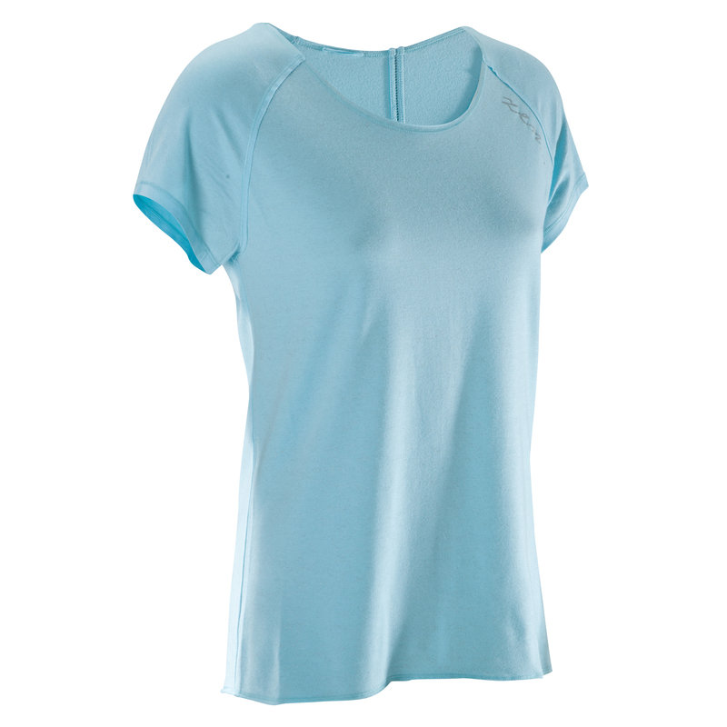 Decathlon, koszulka do jogi krótki rękaw damska Domyos, 39,99 PLN (2).jpg