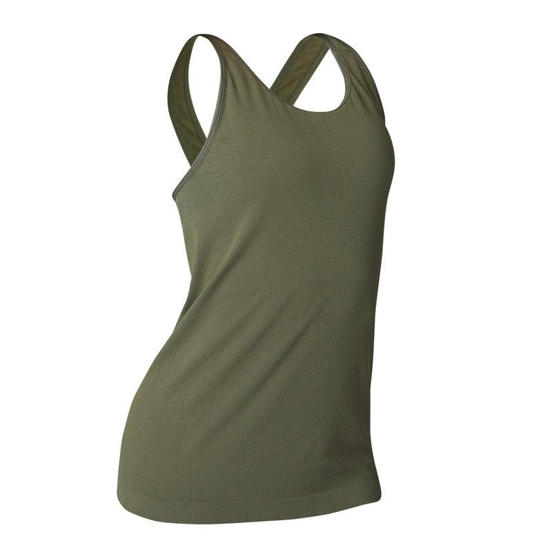 Decathlon, koszulka bezszwowa joga damska Domyos, 39,99 PLN.jpg