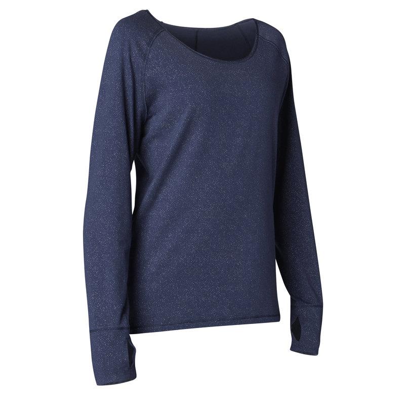 Decathlon, koszulka do jogi długi rękaw Yoga Domyos, 49,99 PLN (2).jpg
