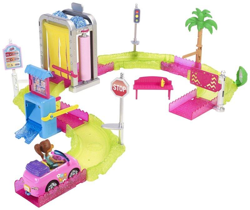 Barbie On the Go Myjnia samochodowa<br>