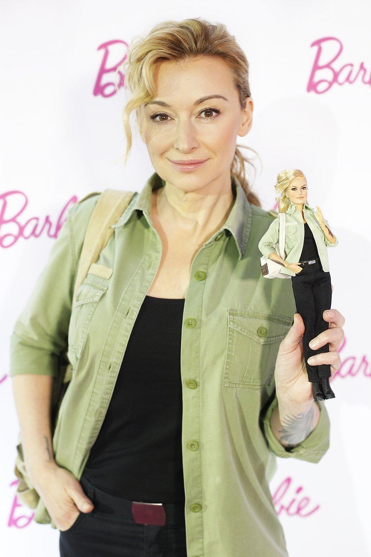 Martyna Wojciechowska - pierwsza polska Barbie Shero<br>