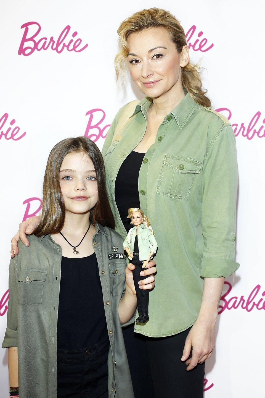 Martyna Wojciechowska z córka Marysią<br><br>
