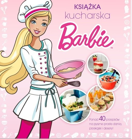 Książka kucharska Barbie<br>