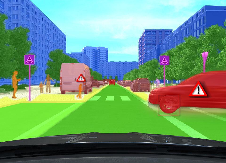 Nowe zaawansowane funkcje wspomagające kierowcę i zautomatyzowane systemy jazdy opierają się na zrozumieniu każdej sytuacji drogowej.