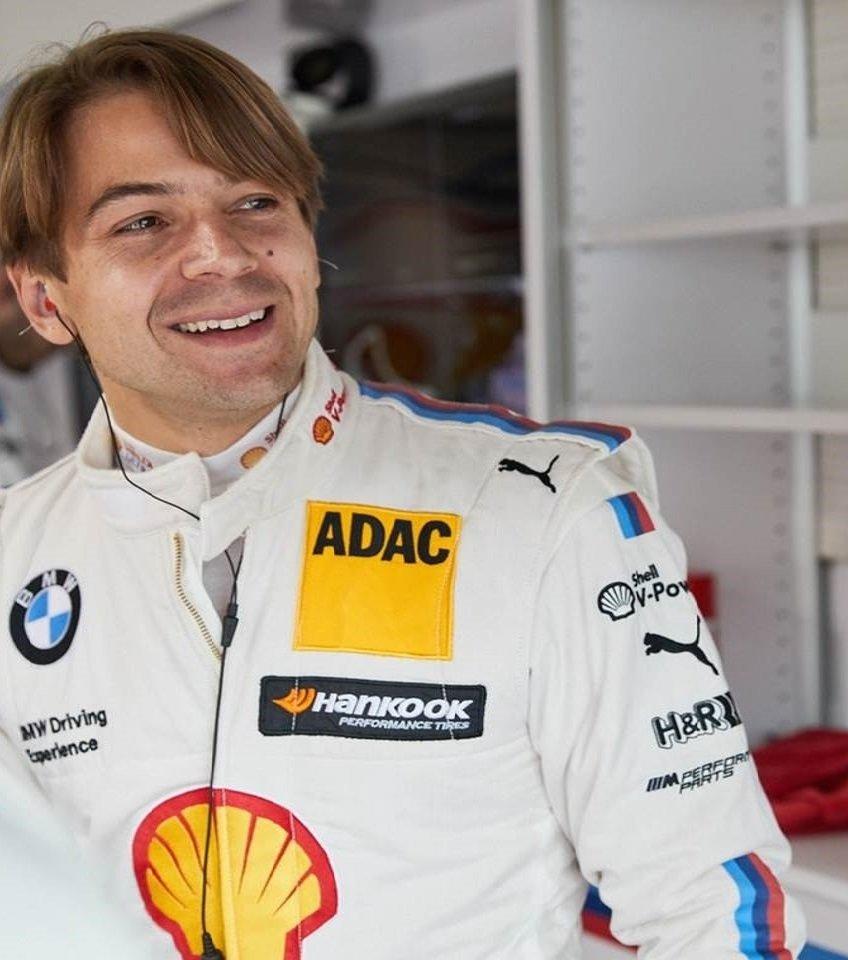 Augusto Farfus, kierowca BMW Team RMG. Jest pierwszym Brazylijczykiem, który wygrał w klasycznym wyścigu wytrzymałościowym.