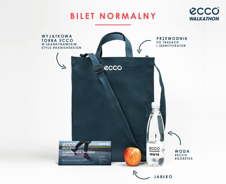 Pakiet startowy ECCO Walkathon - bilet normalny <br>