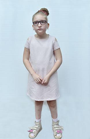 Maja choruje na bardzo rzadko spotykaną w Polsce i na świecie chorobę genetyczną, zespół Mowata-Wilsona.