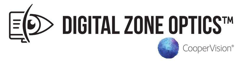 Digital Zone Optics™ logo