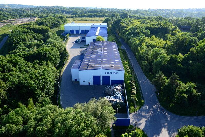 Dwie instalacje do sortowania odpadów - w Centrum Ekologicznym Barycz.JPG