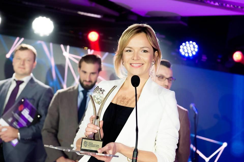 W imieniu UPC, nagrodę odebrała Ewa Sadowska