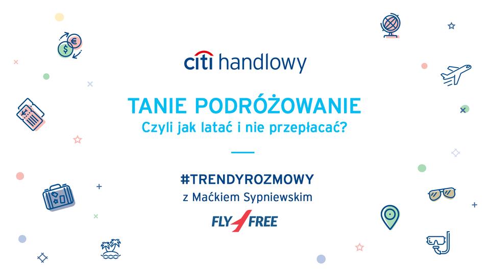 Webinarium z cyklu #TrendyRozmowy z Fly4Free o tym, jak zwiedzić świat małym kosztem w czwartek, 7. czerwca, 18.30 - zapraszamy do oglądania!