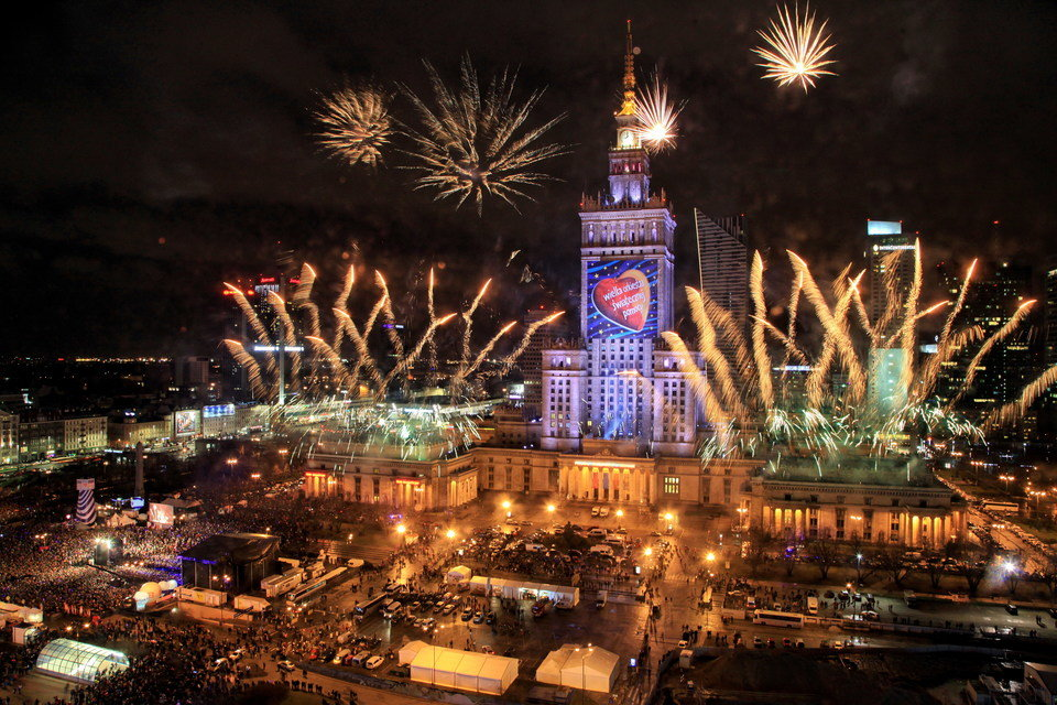 Fireworks display on the day of the Grand Finale. Photo credit: I. Kohutnicki