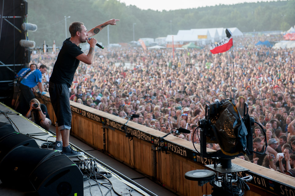 Lao Che at Woodstock Poland 2014. Photo credit: R. Grablewski