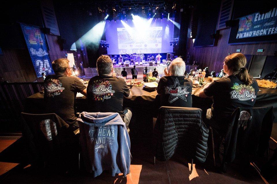 Jurorzy Eliminacji do Pol'and'Rock Festival, fot. Stanisław Wadas