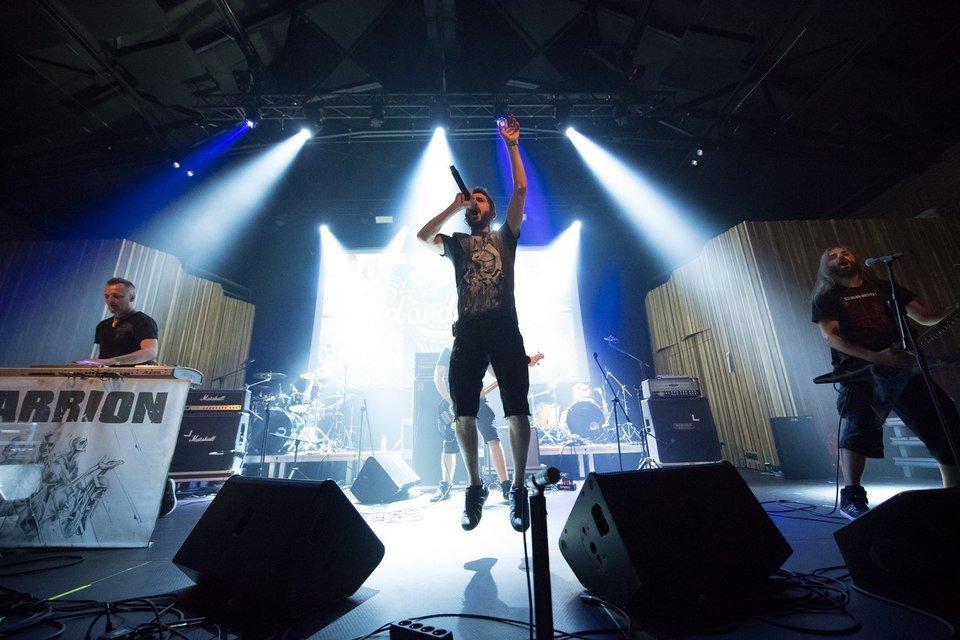 Koncert zespołu Carrion podczas Eliminacji do Pol'and'Rock Festival / fot. Stanisław Wadas