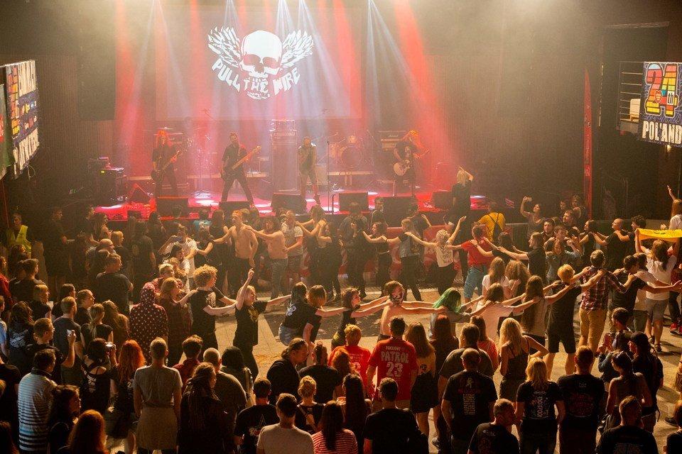 Koncert zespołu Pull The Wire podczas Eliminacji do Pol'and'Rock Festival / fot. Edyta Kurycka