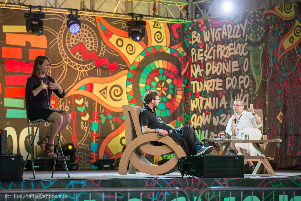 Komunikacja bez barier na Woodstocku 2017