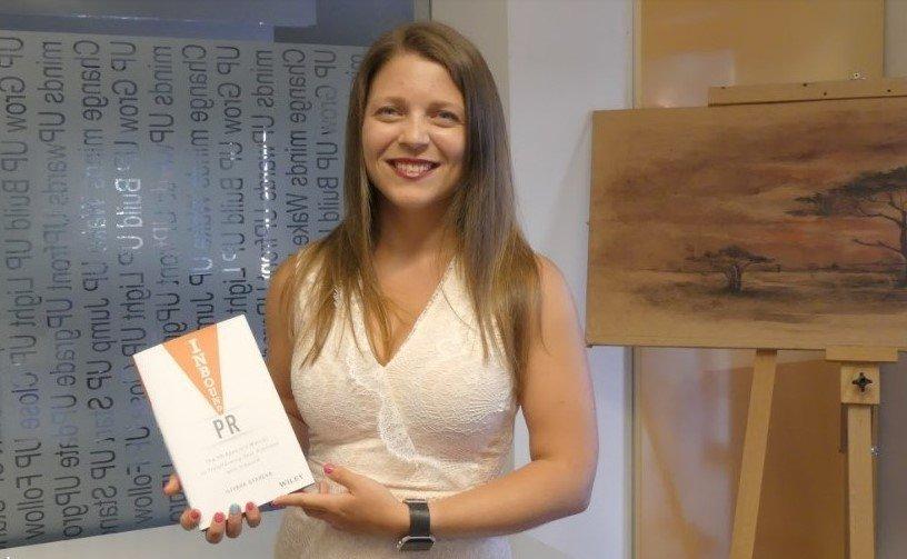 """Илияна Старева, мениджър програма за глобални партньорства и автор на книката """"Inbound PR"""""""