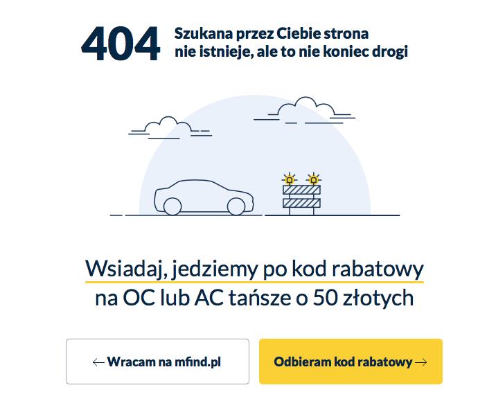 Kreatywne 404 - u nas zarabiasz!