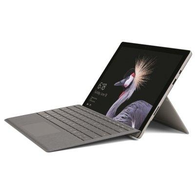 Microsoft Surface Pro 256GB mit Core i5 & 8GB (2017) inkl. Surface Pro Signature Type Cover Platin Grau