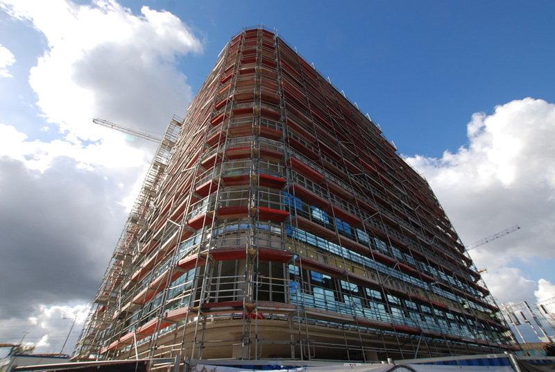 SQ Business Center - zdjęcia z budowy (październik) 2