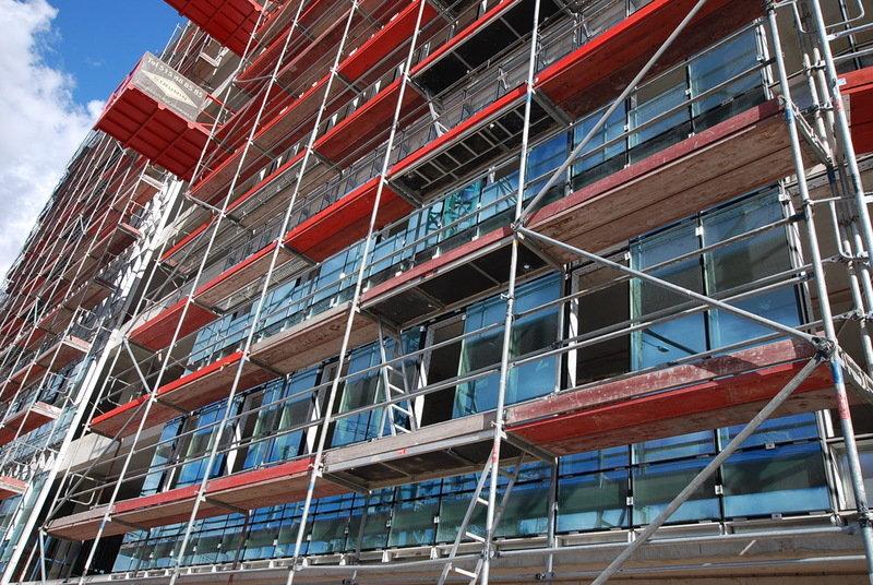 SQ Business Center - zdjęcia z budowy (październik) 4