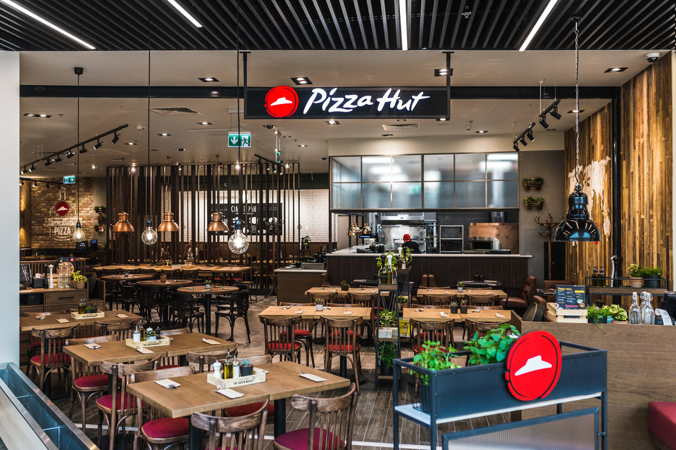 Restauracja Pizza Hut w CH Arkadia