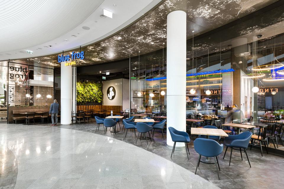 Restauracja Blue Frog w Grand Kitchen Centrum Handlowego Wroclavia