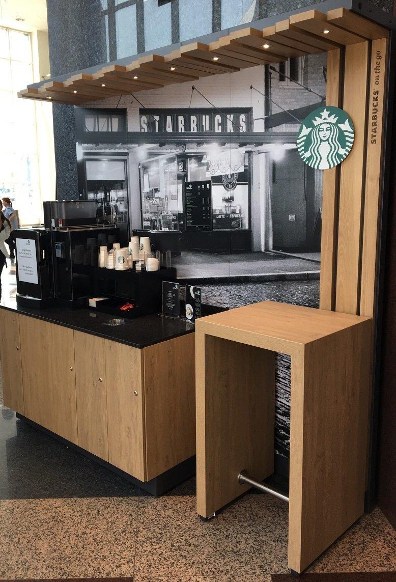Starbucks on the go