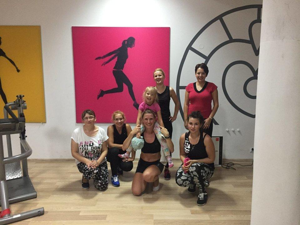 Ekipa Mrs. Sporty w Hajnówce<br>
