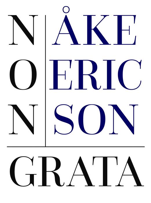 Bokomslag: Non Grata, Åke Ericson