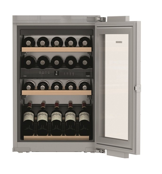 Chłodziarka do wina Liebherr EWTdf 1653 Vinidor - cena 7800 zł brutto.
