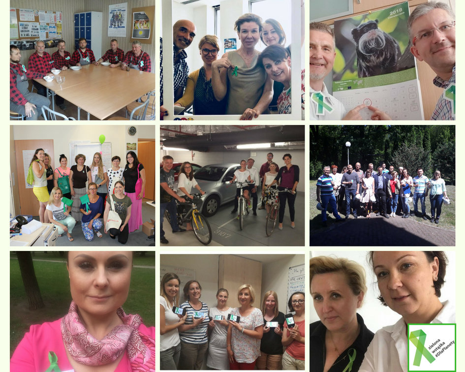 Pracownicy spółek Grupy Veolia #DlaPlanety