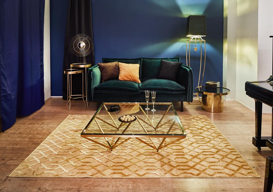 Dywan Farashe Gold z kolekcji Dark Elegance