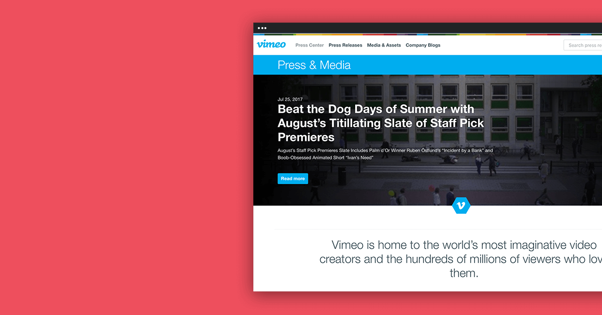 Vimeo and Prowly Show That Brand Newsrooms Don't Have to Be Boring - Prowly Journal