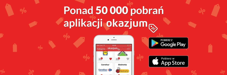 Oszczędzaj z aplikacją Okazjum!