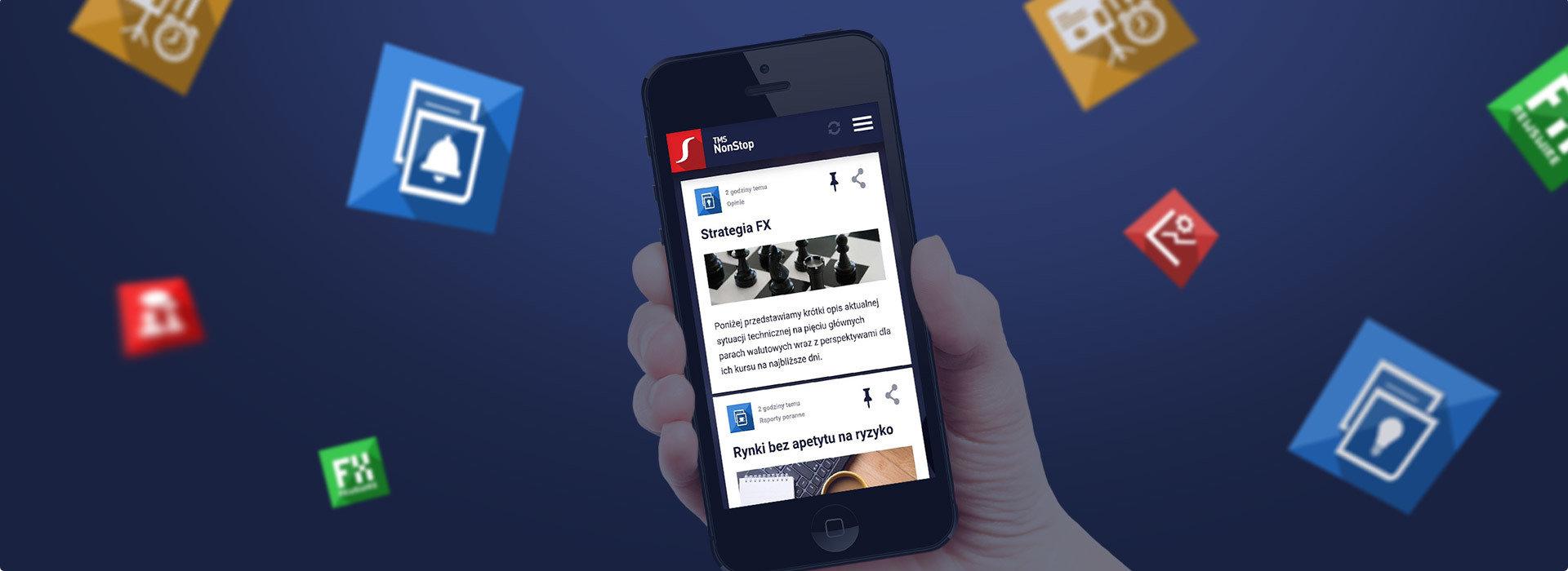 Aplikacja mobilna TMS NonStop na platformy Android i iOS ... pobierz już teraz!