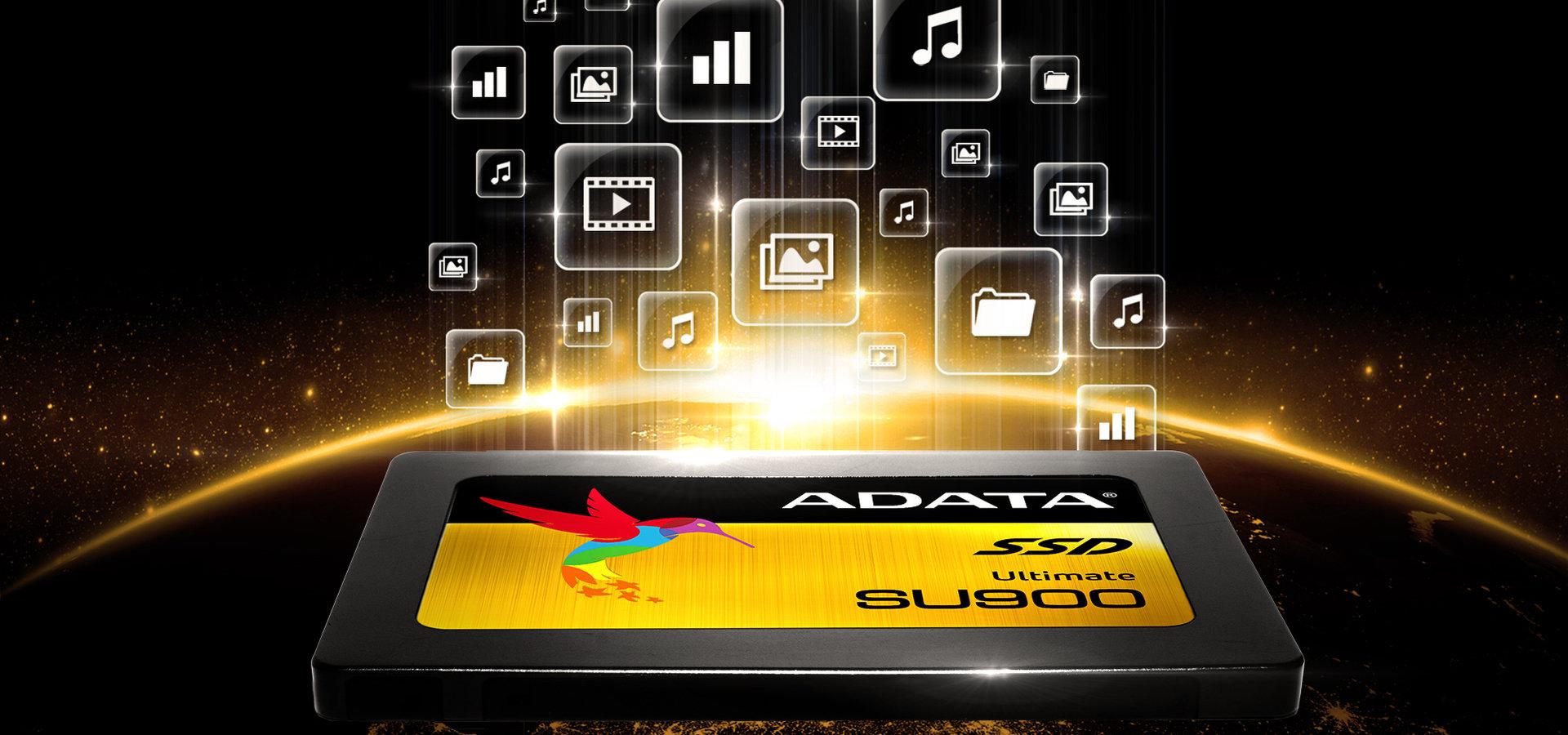 ADATA SU900 – SSD z kośćmi 3D MLC NAND