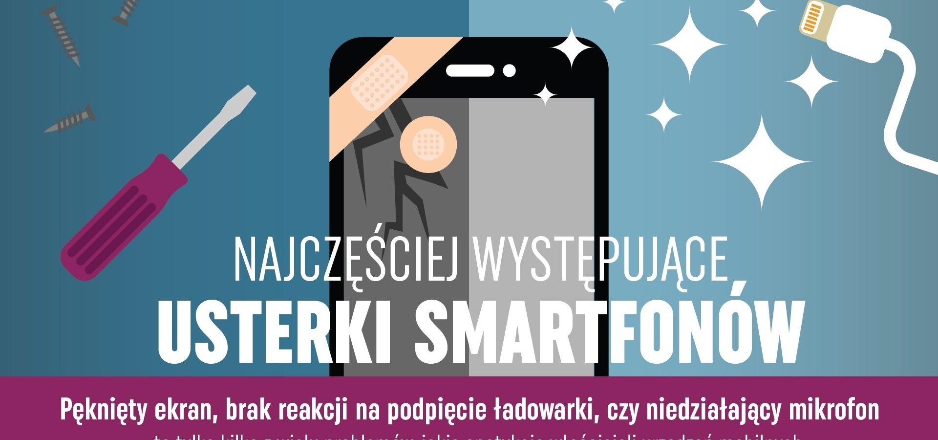 Najczęściej występujące usterki smartfonów
