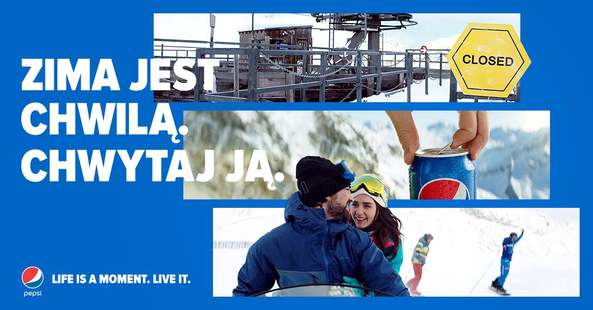 Chwytaj niezapomniane zimowe momenty razem z Pepsi!