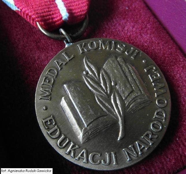 Medal Komisji Edukacji Narodowej dla naszej nauczycielki
