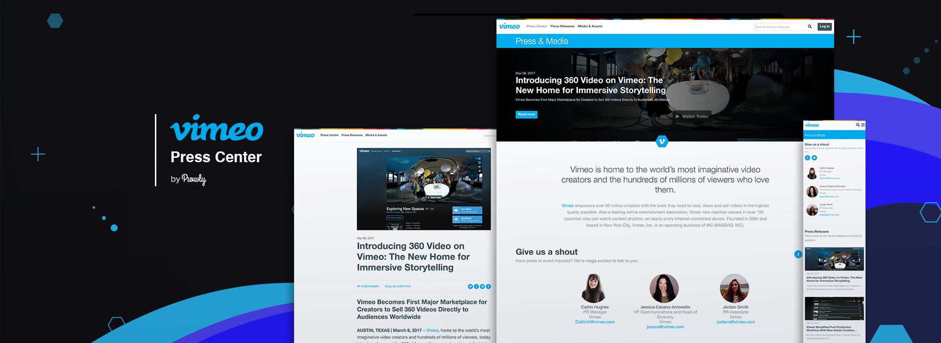 Vimeo and Prowly show that brand newsrooms don't have to be boring