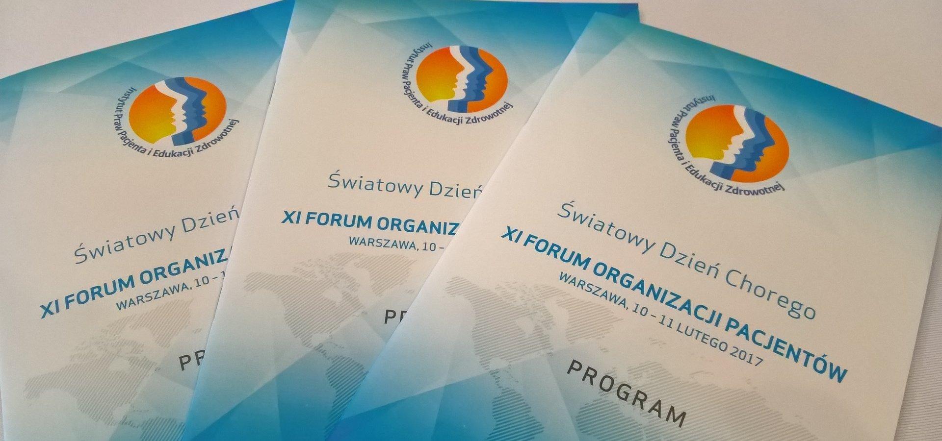 XI Forum Liderów Organizacji Pacjentów