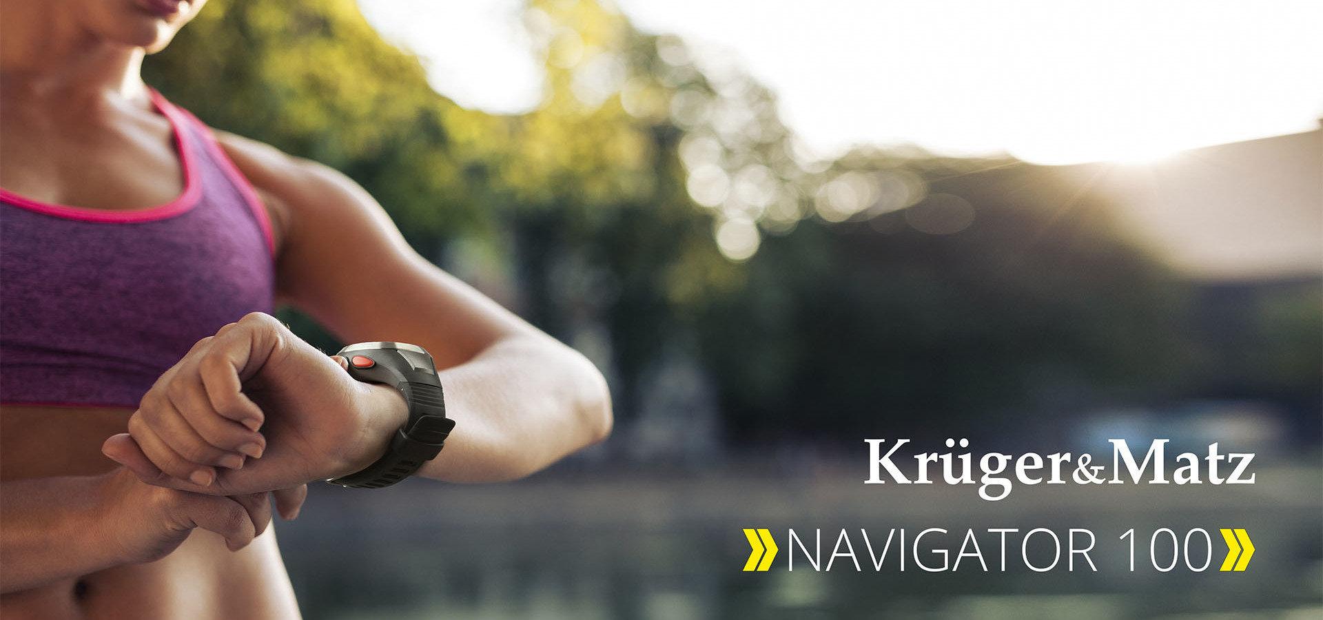 Navigator 100 – primul ceas sport din oferta Kruger&Matz