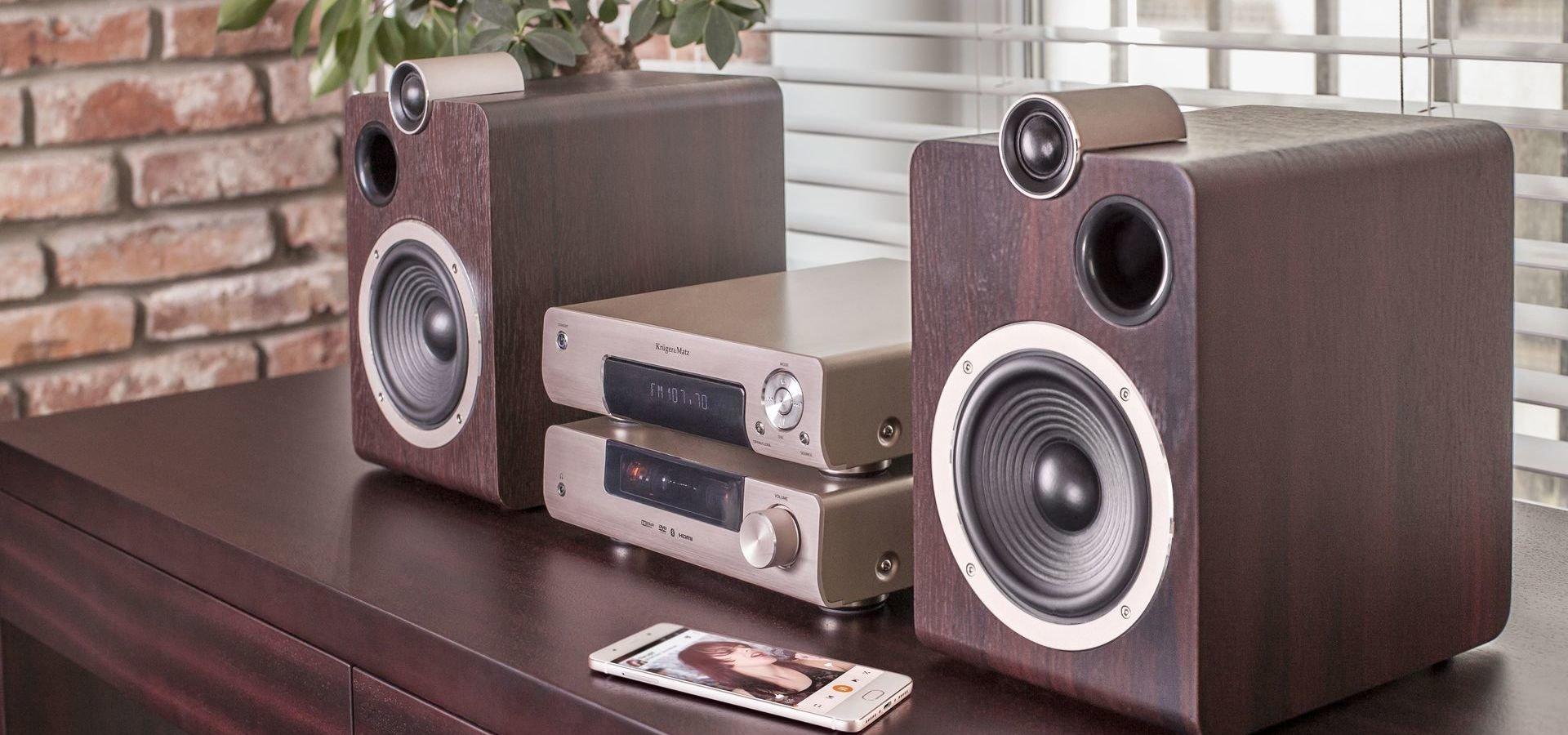 Noul sistem audio de la Kruger&Matz - sunet de calitate într-un design plin de stil