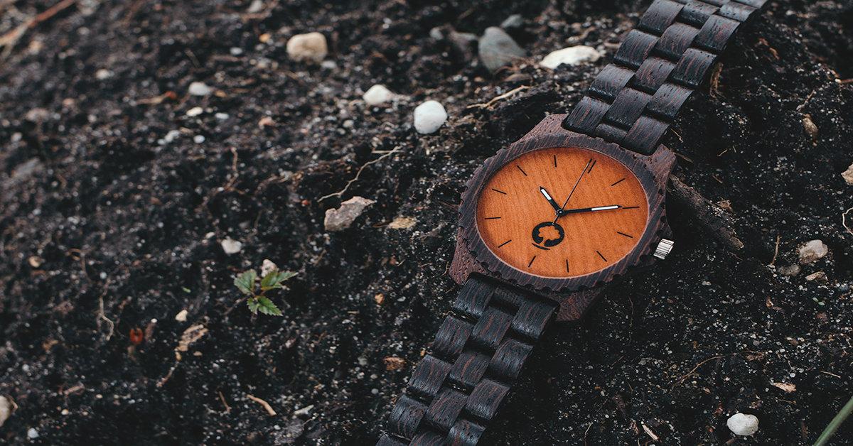 Plantwear <3 wood, czyli PPC dla miłośników drewnianych zegarków