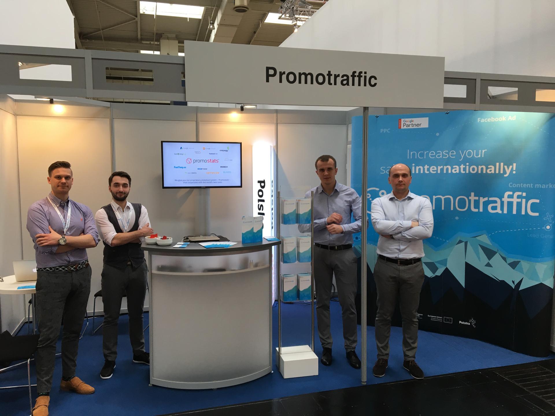 PromoTraffic wystawcą na CeBIT -  największych targach technologicznych w Europie!