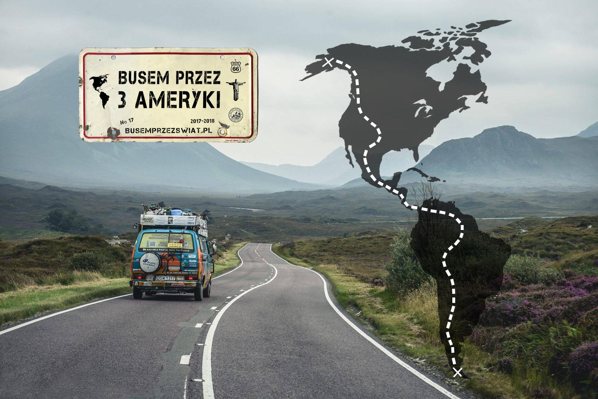 Busem Przez Świat ruszają w podróż przez 3 Ameryki i szukają chętnych!