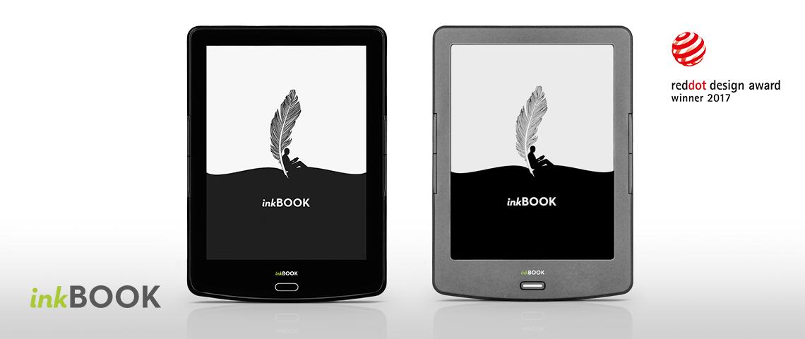 Czytniki inkBOOK kontynuują sukces polskich produktów wyróżnionych nagrodą Red Dot