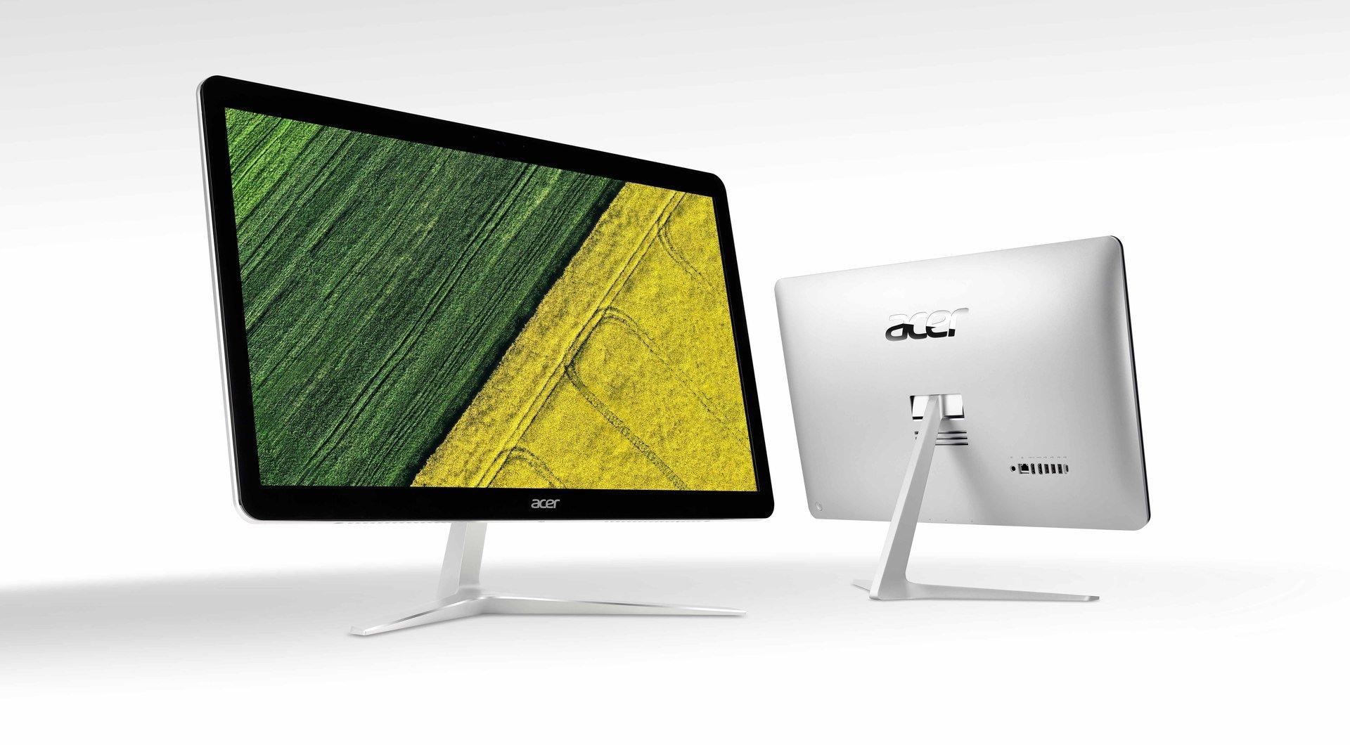 Nowe, smukłe komputery typu all-in-one serii Acer Aspire nadadzą stylu współczesnym domom